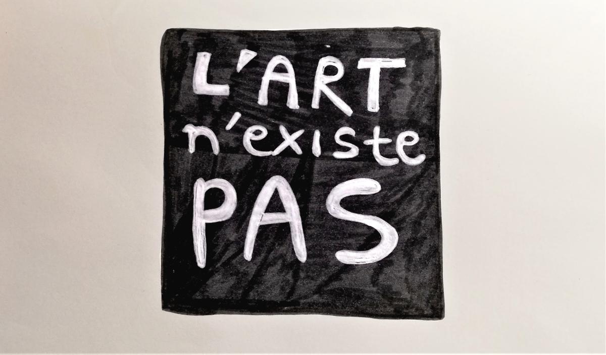 L'art n'existe pas